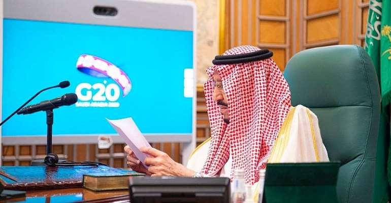 © VIA REUTERS - SAUDI ROYAL COURBandar Algaloud/Courtesy of Saudi Royal Court/Handout via REUTERS