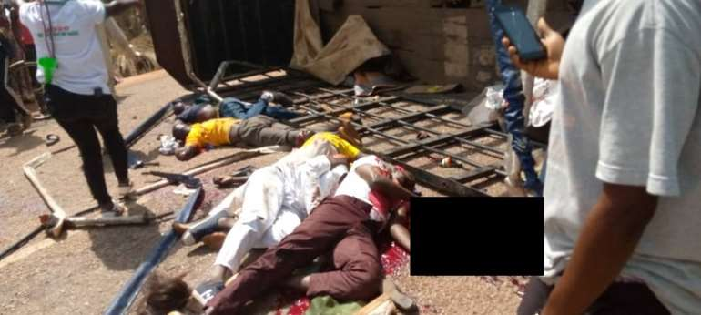 A/R: 6 NDC Supporters Dead, Several Injured As Truck Summersaults At Franse