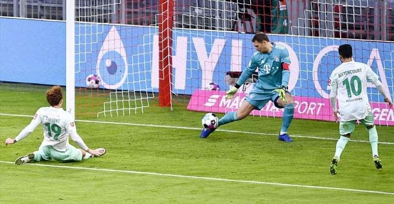 FC Bayern München gegen den SV Werder Bremen  Image credit: Getty Images
