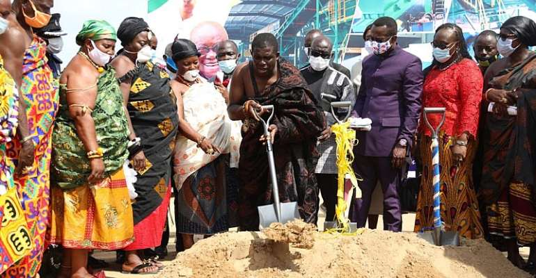 Central Region Hits Grounds To Pave Way For Construction Of Waste Treatment Plant