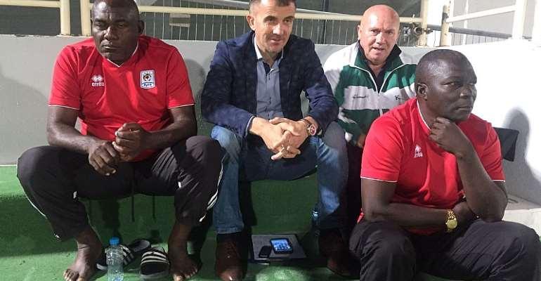 Uganda coach Milutin