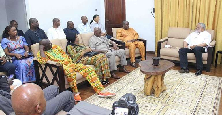 JJ Throws Fire Again...'NPP Inherited Worst National Corruption'
