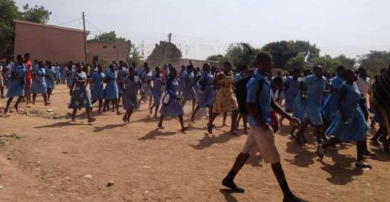 Feeding Grant: Schools in Upper East reopen