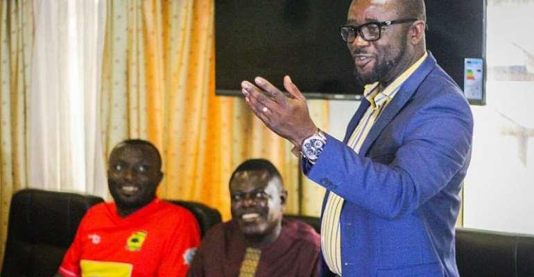 All Executive Council Members Are Fit For Ghana FA Veep Role, Says Kurt Okraku