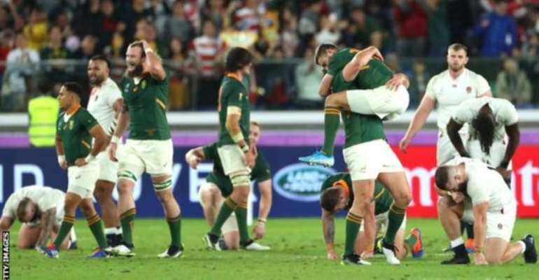 England 12-32 South Africa: Springboks Win Rugby World Cup For Record-Equalling Third Time