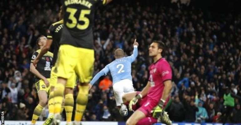 Man City Beat Stubborn Southampton With Late Walker Goal