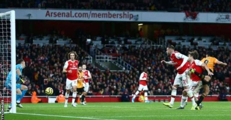 Arsenal Held To 1-1 Draw By Wolves
