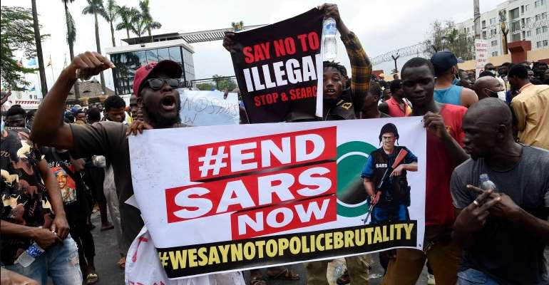 #ENDSARS Killings: Participants At Accra Book Fest 2020 Observe 1-Minute Silence