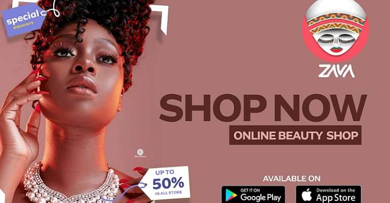 ZAVA Online Beauty Shop Launches Apps For Ladies