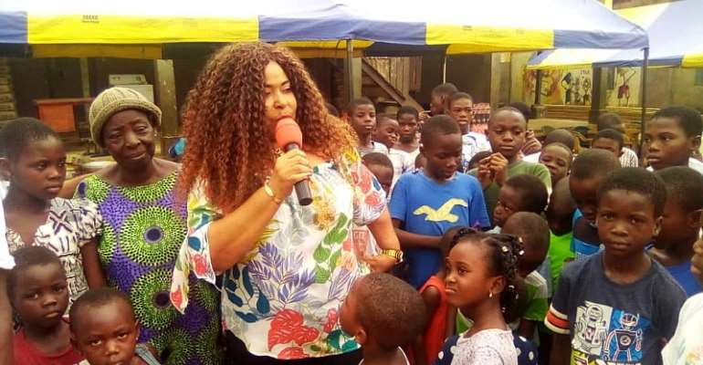 Just Here Company Boss Fetes Over 200 Kids At Rising Star Orphanage