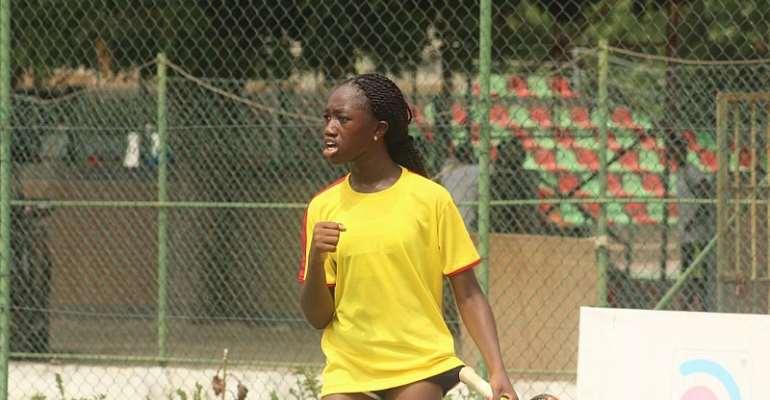 Ghana Junior Tennis Team Begins Events On Bright Note