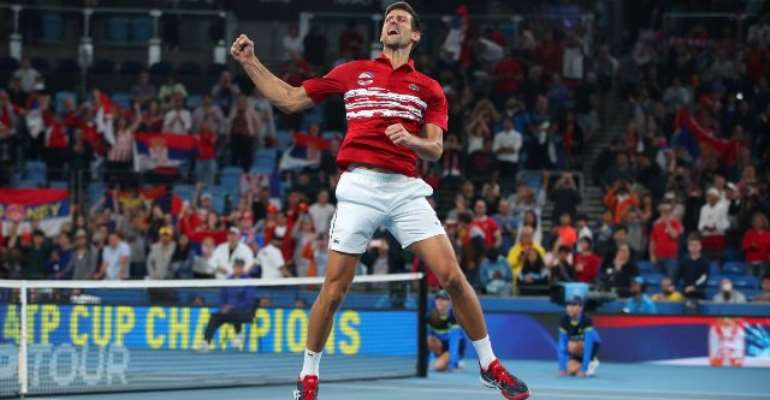 Superb Djokovic Defeats Nadal And Stars In Doubles To Win ATP Cup