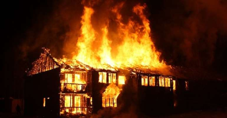 71 Fire Outbreaks Recorded In Ashanti Region In 2020