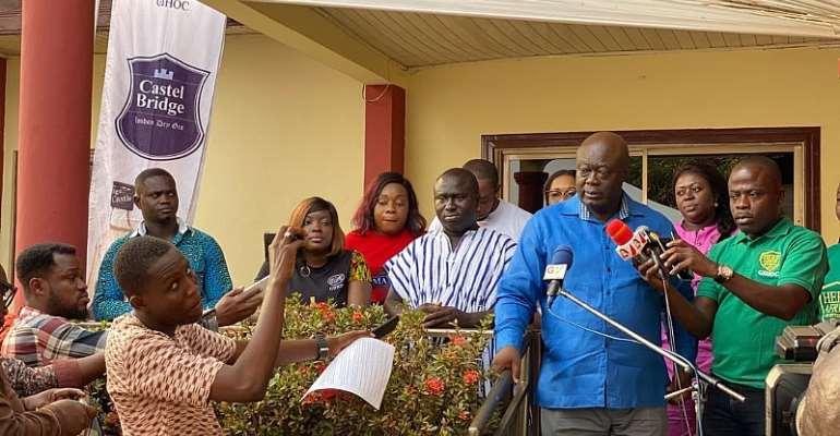 GIHOC Holds Press Soiree In Kumasi