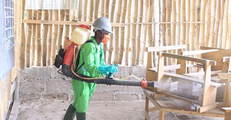 Central Region: Private schools undergo mass disinfection