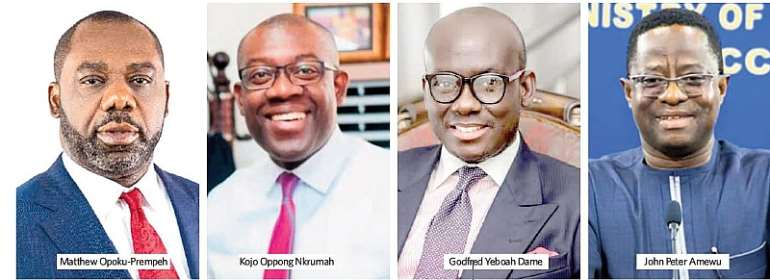 Ministers' list pops up, Akufo-Addo to drastically cut down ministers