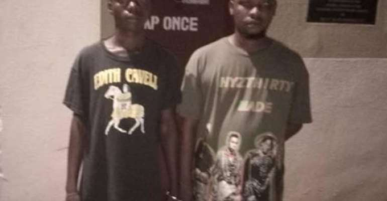Two grabbed for attempting to smuggle narcotics into Ankaful Prison