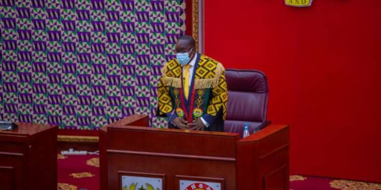 Bagbin meet leadership of Parliament today over chaotic inauguration