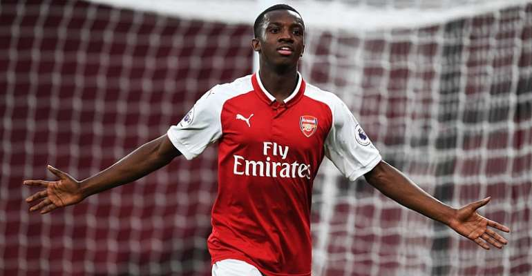 Ghana's Eddie Nketiah Could Replace Injured Welbeck - Arsenal Chief