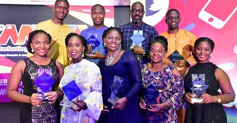 MTN Ghana Excels At 9th Marketing World Awards, Wins Seven Awards