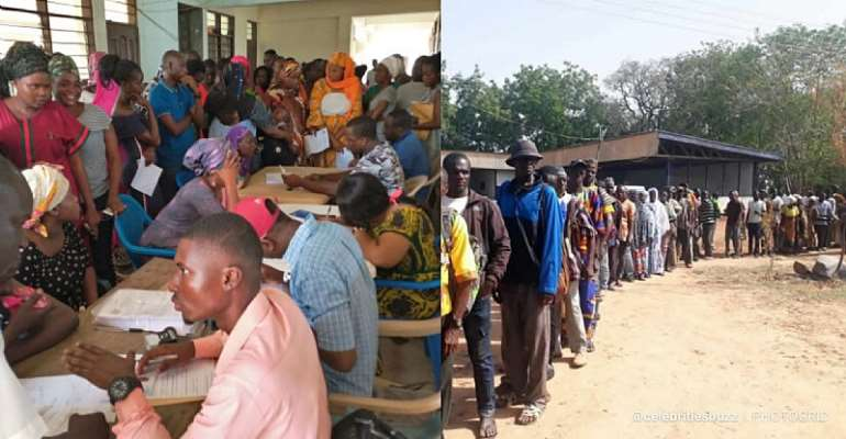 NPP Boys Hijack Ghana Card Registration Process In Bono East ― Group Alleges