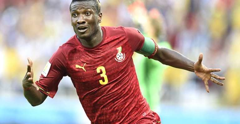 Asamoah Gyan Celebrates 34th Birthday Today
