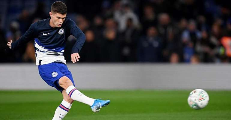 Fit-again Pulisic Available For Chelsea Against Man City