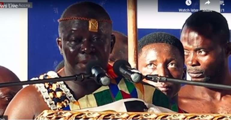 Referendum: Otumfuo Unhappy Over Neglect Of Chiefs