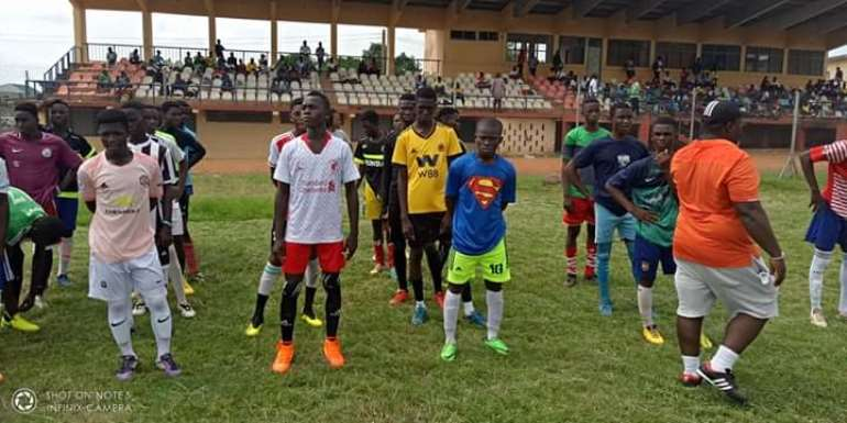 National U-15 Scouts Pick 16 From The Volta Region