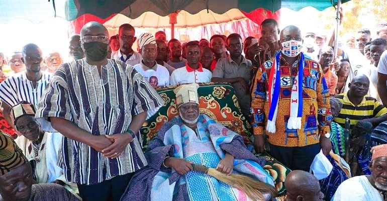 Naa Bakpem Mahama Grateful To Akufo-Addo, Bawumia For Dagbon Peace