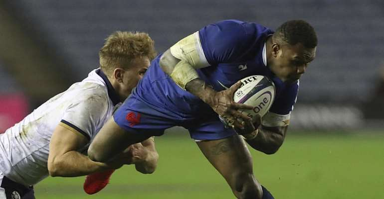 Vakatawa try earns France 22-15 win over Scotland