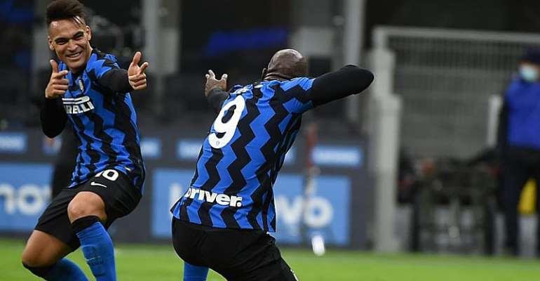 Lautaro Martinez & Romelu Lukaku © Getty Images