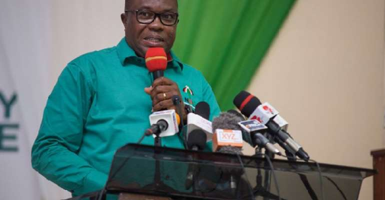 Vote Out Akufo-Addo Cutting Sod For 419 Projects – Ofosu Ampofo