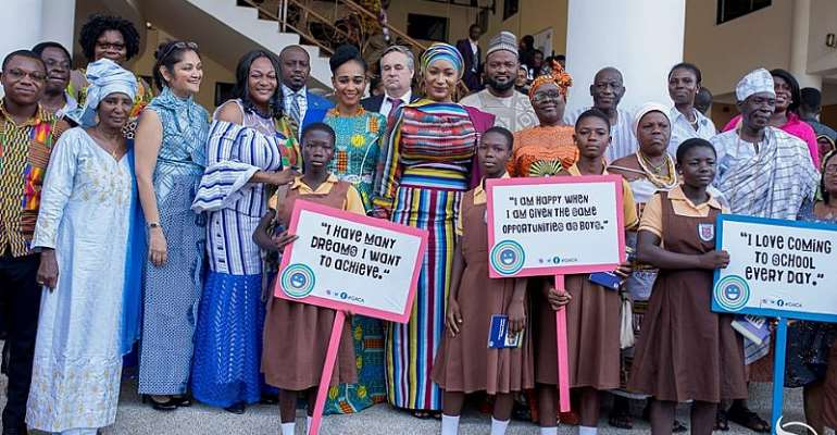 Second Lady, Samira Bawumia Joins Campaign against Child Abuse