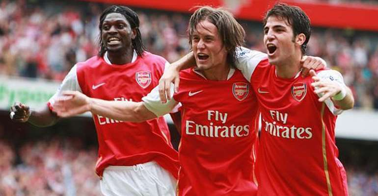 Emmanuel Adebayor: If You Say 'How Are You' To Rosicky, He'd Be Injured For Months