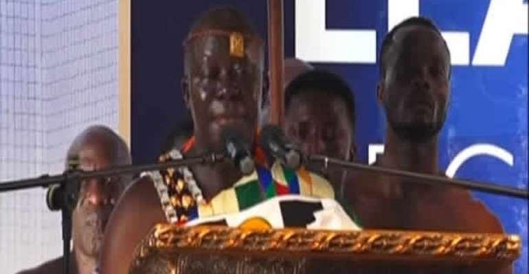 [Video] Otumfuo's Speech At UPSA