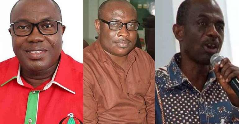 Samuel Ofosu-Ampofo, Kwaku Boahen and Johnson Asiedu Nketia