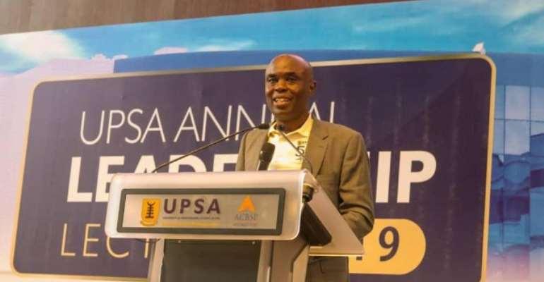 UPSA V-C, Prof Abednego Feehi Okoe Amartey