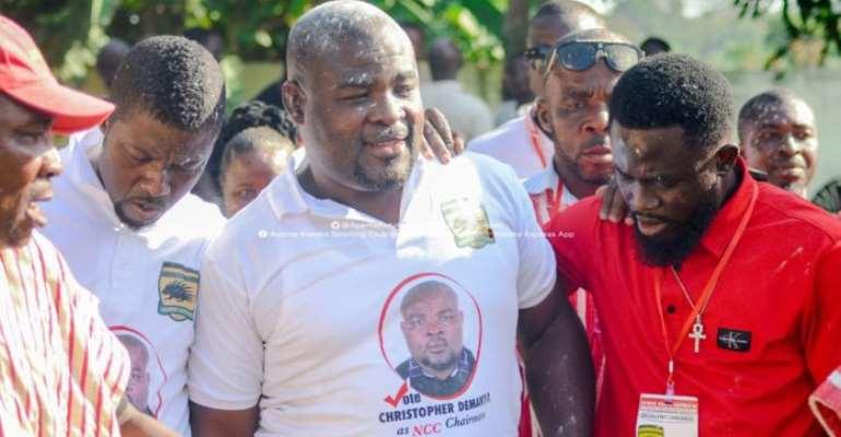 Christopher Damenya Elected New Kotoko NCC Chairman