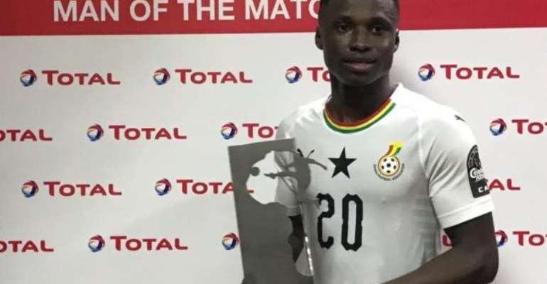 CAF U-23 AFCON: Evans Mensah Named In Team Of  The Tournament