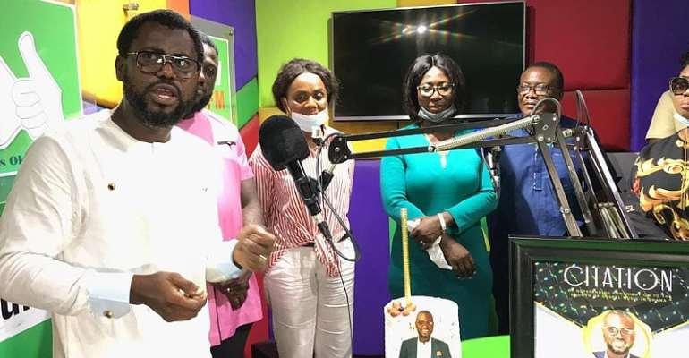 Gospel 360 Africa Honors Abeiku Santana For Pioneering Live Worship On Radio In Ghana's Broadcasting