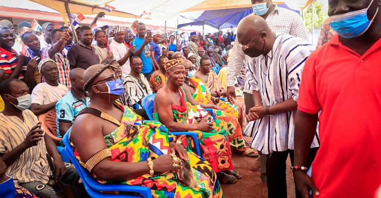 Thank You For Delivering Your Promises—Nawuri,Nchumuru Chiefs To Akufo-Addo