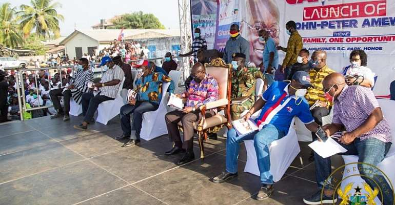 The Umbrella Party Has Holes In It, It Can No Longer Save You – Akufo-Addo Woos Volta Region