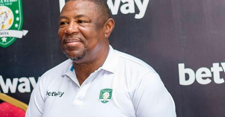 Aduana Stars head coach Paa Kwasi Fabin