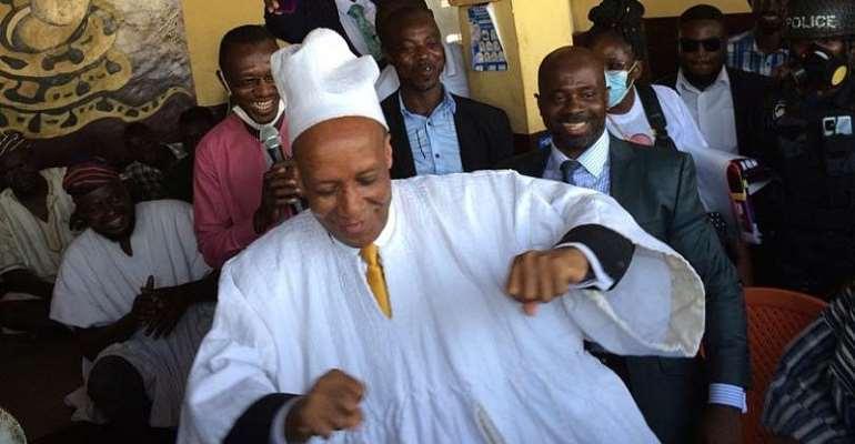 Independent Presidential Candidate Enskinned As Gooi Zabli Naa Of Lamashegu