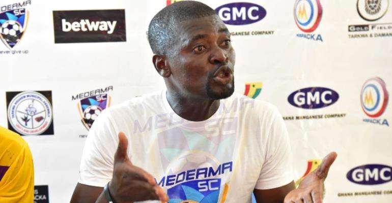 Medeama SC head coach Samuel Boadu