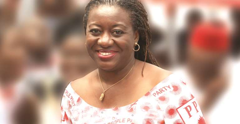 'I'm Your Own; Vote For Me' – PPP's Brigitte Dzogbenuku To Residents Of Volta Region