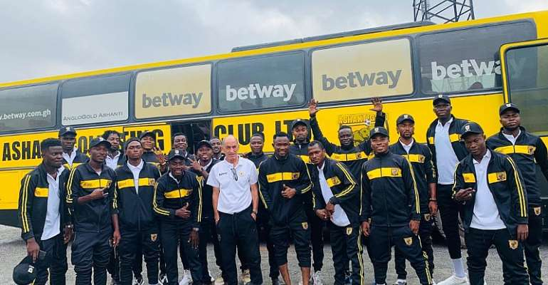 Ashanti Gold SC Travels With 20-Man Squad For Hearts Of Oak Showdown