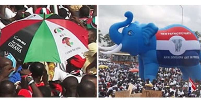 Ghanaians Angry With NPP And NDC