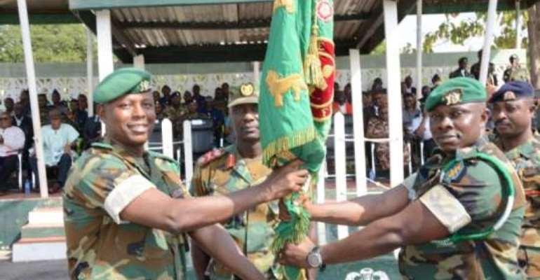 LT Col Darkwa Takes Over Tamale Airborne Force